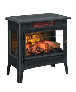 Electric-Fireplace-Heater-For-Home-Portable-Room-Thermostat-Remote-Control-NEW