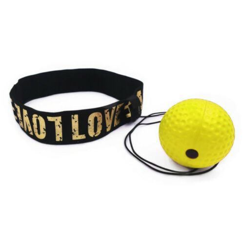 Boxing Head Band Speedball Fight Ball Training Reflex Speed Punch Exercise Sport