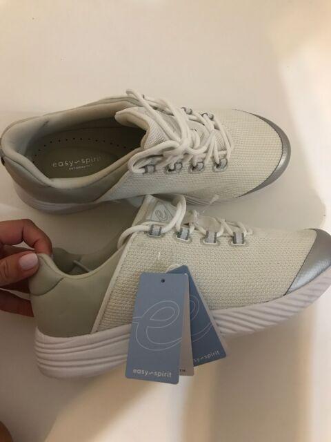 4d4dd9bb02 NEW EASY SPIRIT Antigravity Women s Favour2 Tennis Shoes Sneakers White Sz  7.5