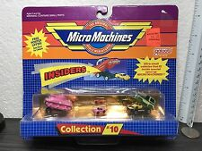 1989 Micro Machines Insiders Collection #10 Pink Sherman Army Tank Cargo Truck