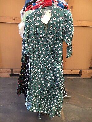 Anni 1950 Verde Daisy Londinese Abito Costume- Lasciamo Che Le Nostre Merci Vadano Al Mondo