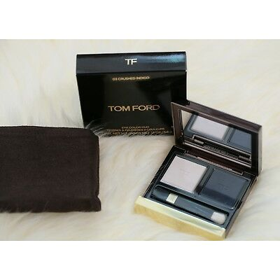 New in Box! Tom Ford Eye Shadow Colour Duo 03 Crushed Indigo