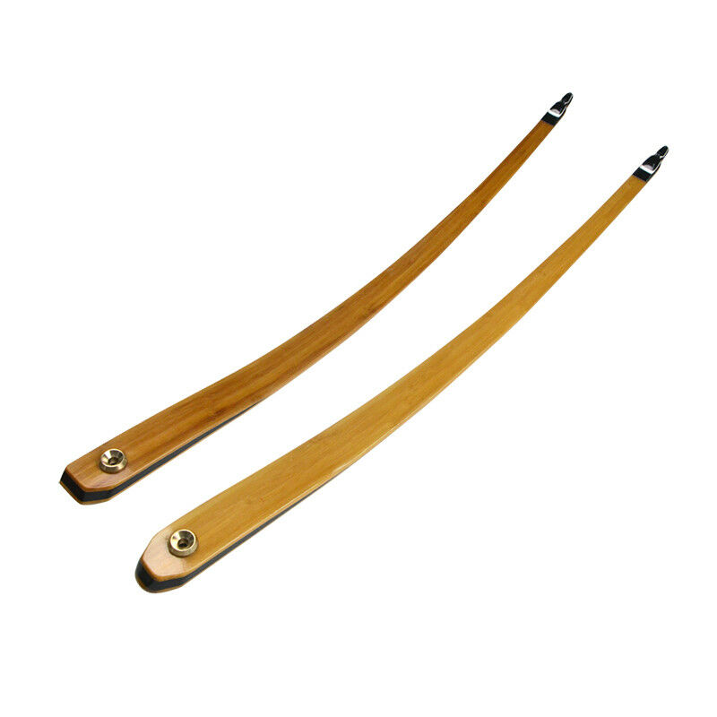 25-55lbs Archery Bow Limbs for 62  Longbow Takedown American Hunting Recurve Bow