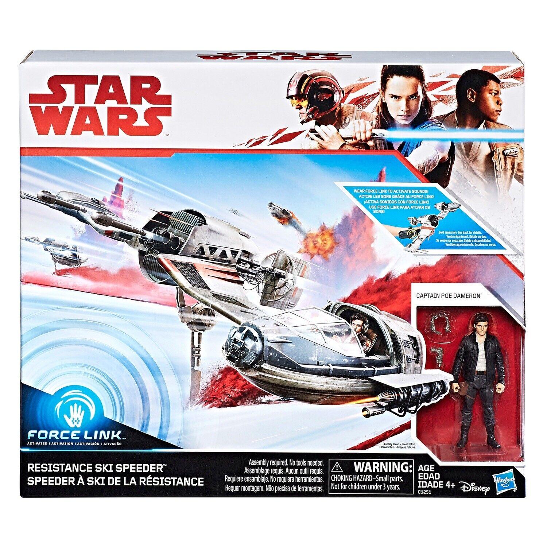Star Wars Action Figure Resistance Sky Speeder Force Link Hasbro