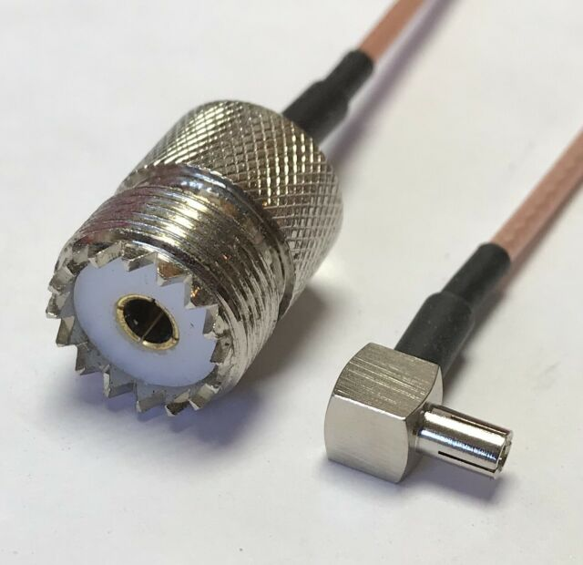 RG316 TS-9 MALE to SO239 UHF Female Coaxial RF Cable USA-US