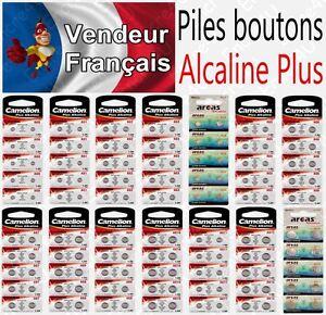 Piles-boutons-1-5V-Alcaline-Modele-AG4-LR66-LR626-377-LR41-LR44-LR43-LR54