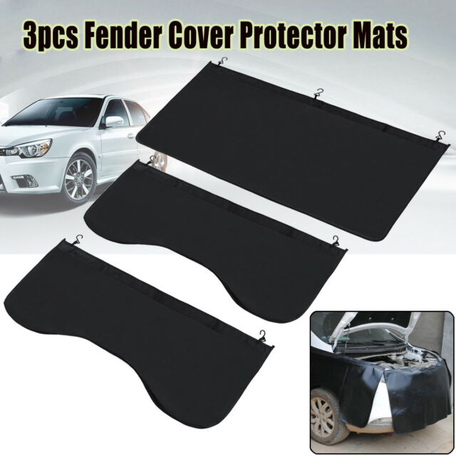 Workshop Auto Car Magnetic Pvc Wipe Clean Wing Cover Protector Mat 800 x 600mm