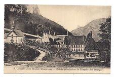 couvent de la grande-chartreuse , entrée principale et la chapelle des étrangers