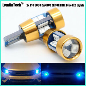 CANBUS-ERROR-FREE-2x-T10-LED-Bulbs-W5W-SAMSUNG-3030-SMD-LED-Lights-Reading-Lamp