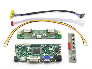 HDMI-DVI-VGA-LCD-LVDS-Controller-Board-Inverter-Kit-for-M201EW02-V-8-1680X1050