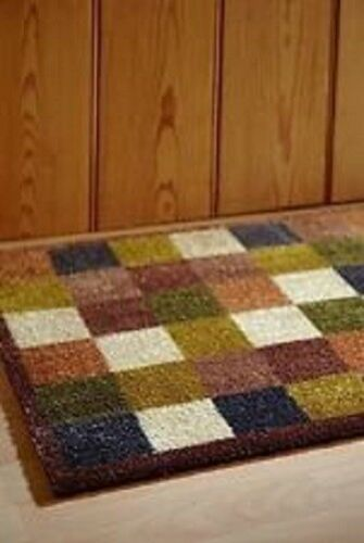 Door Mat Washable Muddle Mat From The Home of Hug Rug 75x50cm CHECK 1