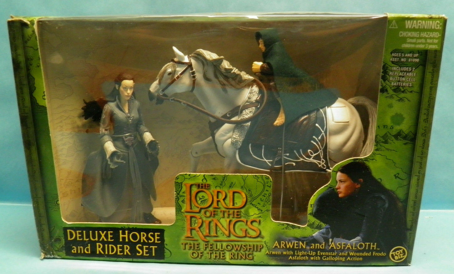 giocattoloBiz The Lord of the Rings Arwen & Asfaloth The Fellowship of the Ring Set
