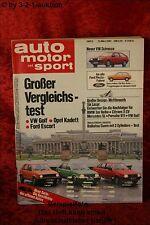 AMS Auto Motor Sport 5/81 * Cadillac Fleetwood Subaru 4WD Talbot Tagora
