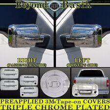 2004-2008 FORD F150 Chrome Door Handle(2k,noKP)+Gas Door+Mirror+TailgateC Covers