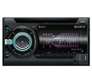 Sony-WX-900BT-2-DIN-USB-Bluetooth-Manos-Libres-Aux-MP3-Pantalla-LCD-auto-estereo-REFURB