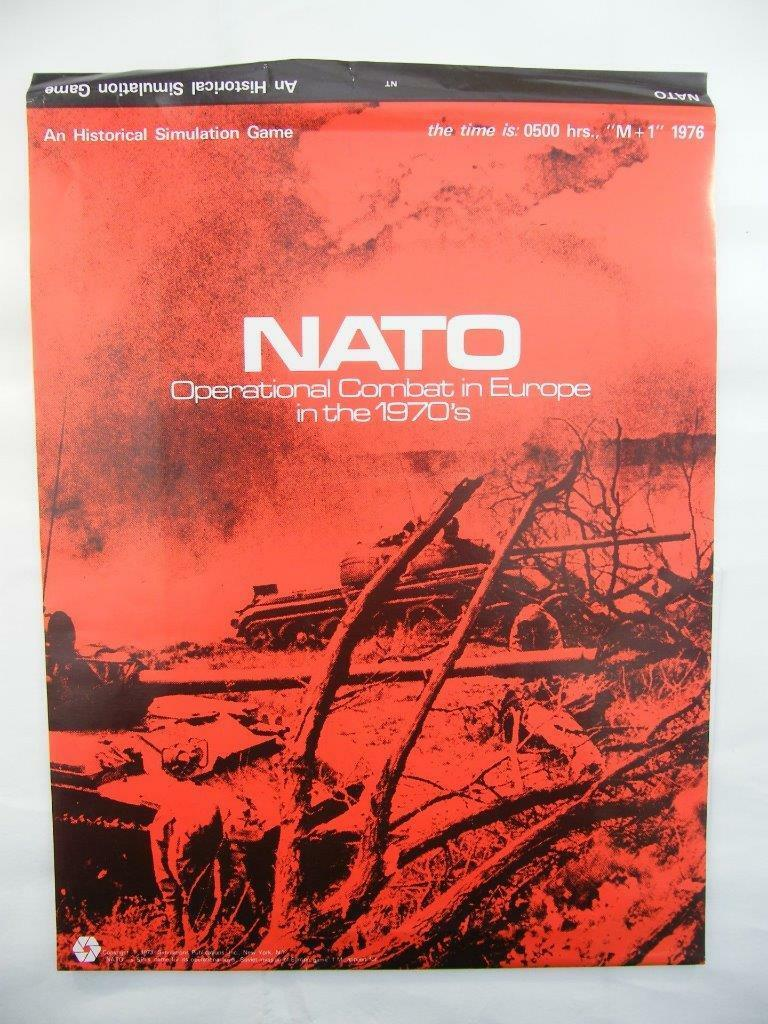 NATO - Operational Combat In Europe In The 1970s - SPI Games