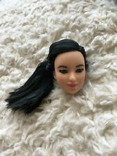 HEAD ONLY Barbie Made To Move Lea Purple Top Replacement Part 1 PC