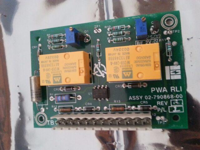 Emerson Liebert 02 790868 00 Rev A Pwa Rli Ups Circuit Board Ebay