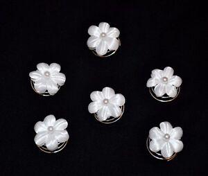 6 curlies perlen haarspiralen haarschmuck haarnaden. Black Bedroom Furniture Sets. Home Design Ideas