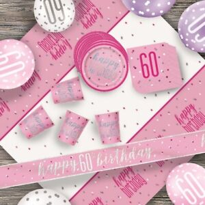 Or Rose Glitz 60 60th Anniversaire Table Confetti 14 g