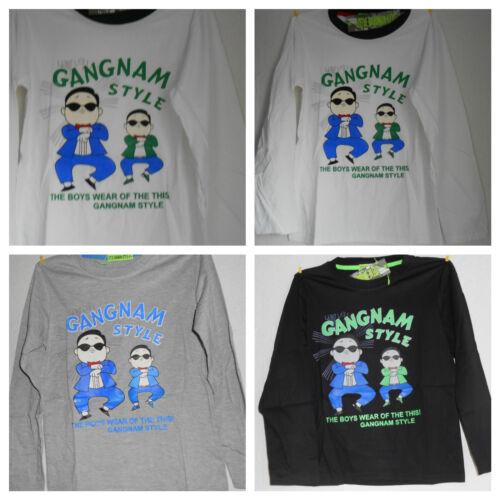 T-Shirt Shirt Pullover Gangnam Style:Langarm Shirt
