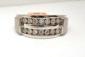10K-WHITE-GOLD-ROUND-DIAMOND-MENS-BAND