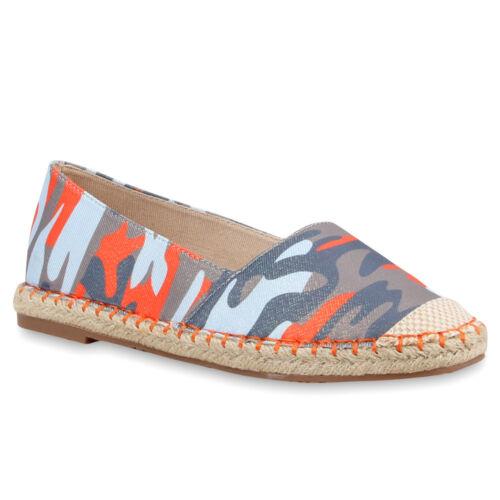 Modische Damen Bast Slipper Trendy Espadrilles Lack 816056 Schuhe