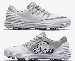 535a47a0b002 Nike Lunar Control 4 Player Issue Golf Shoes Oregon Ducks Team ...