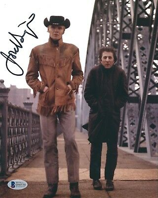 Photographs Jon Voight Signed 'midnight Cowboys' 8x10 Photo Beckett Bas D46530 Movies