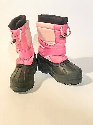 girls size 12 snow boots