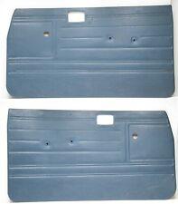 84 88 Toyota Pickup Truck Blue Lr Door Cards Panels Interior Vinyl Leftright Fits Toyota
