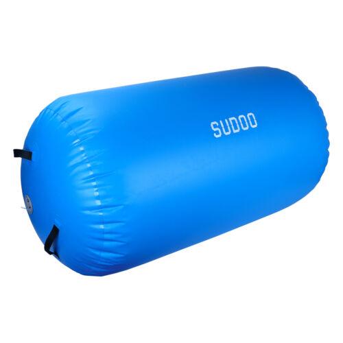 Aufblasbare Air Tumbling Track Rolle Yoga Gymnastics Luftmatratze PVC Matte DE