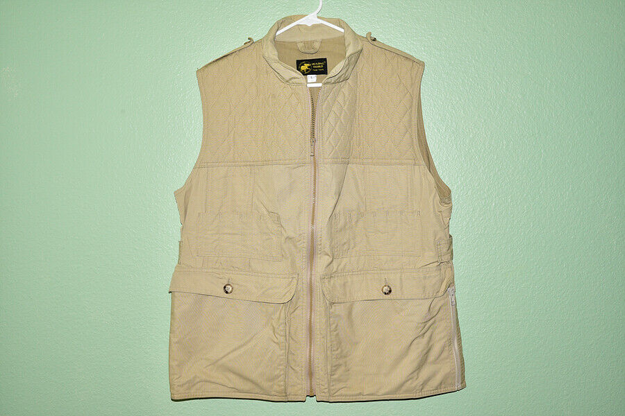 Hunting World New  York Vest Quilted Men's L  sell like hot cakes