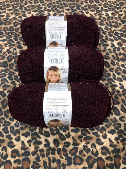 3Pk Lion Brand 860-134 Vanna/'s Choice Yarn-Terra Cotta