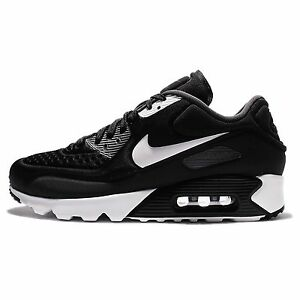 Szczegóły o Nike Air Max 90 Ultra SE Black White Mens Running Shoes NSW Sneakers 845039 001