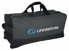 LifeVenture Expedition 120L Zip Expedition Wheeled Duffle Bag Reinforced Base
