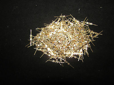 3000  33 MM BRASS CHANDELIER PARTS LAMP CRYSTAL PRISM BEAD CONNECTOR PINS BOWTIE
