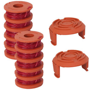 12-Pack-Replacement-Spool-String-Trimmer-Line-For-WORX-10-Pack-Spool-2-Cap