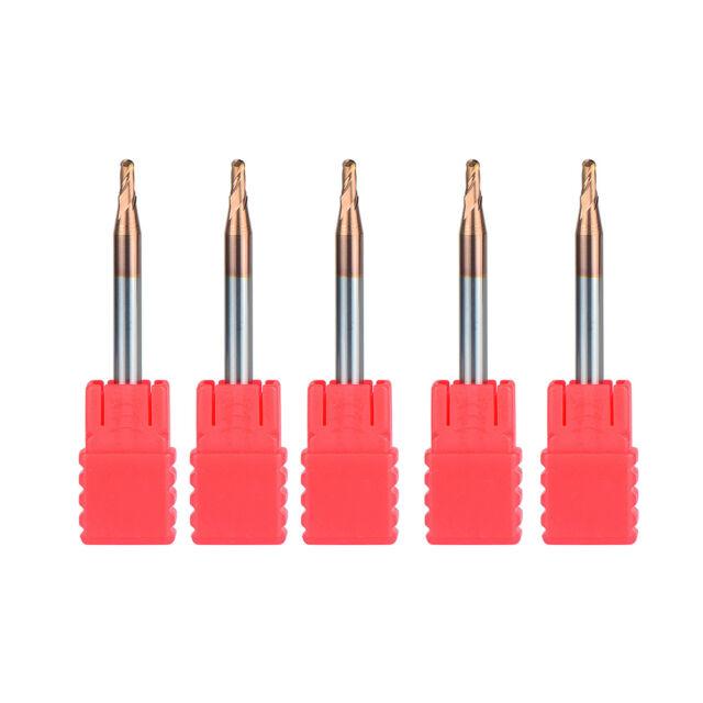 1pcs 2 flutes Tungsten Carbide Ball Nose End Mill CNC tool Radius 1.25MM