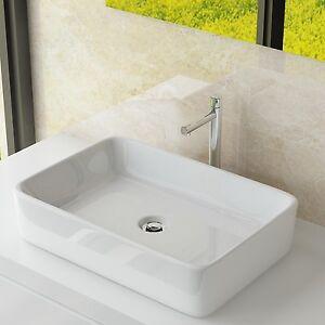 Design Keramik Aufsatzwaschbecken Tisch Handwaschbecken Bad Gäste