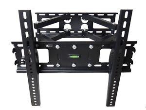 FULL-MOTION-TILT-DUAL-ARM-LCD-LED-TV-WALL-MOUNT-BRACKET-36-40-42-45-46-47-50-55