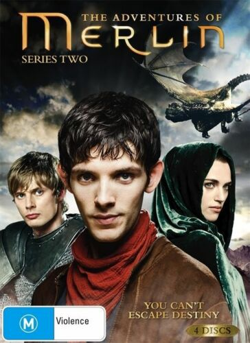 1 of 1 - The Adventures Of Merlin : Series 2 (DVD 2011 4-Disc Set) New Stock (D82)(D149)