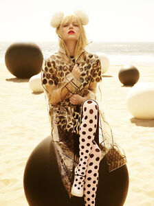 Made-in-Italy-EMILIO-CAVALLINI-Animal-Print-Pantyhose-LEOPARD-spot-TIGER-stripe