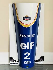 WOW!!!FORMULA 1 F1 Mclaren Honda sign Ayrton Senna Race Car nose Style Mp4