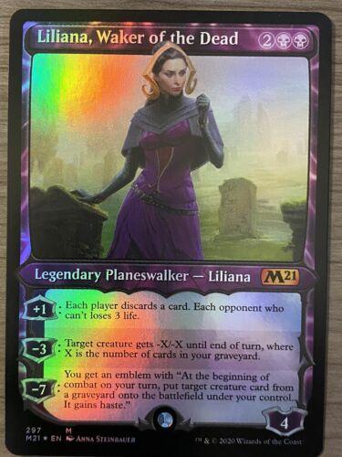 Waker of the Dead Showcase FOIL M21 MTG NM Magic The Gathering Liliana