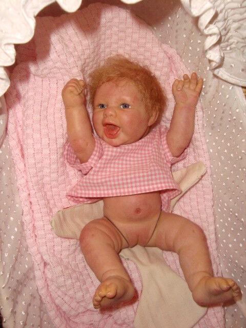 NEU - Reborn - handgefertigt handgefertigt handgefertigt lebensechte Mädchen Puppe - Berenguer Modell - 35 0799a4