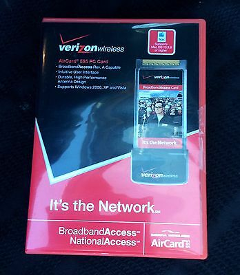 Verizon Wireless AirCard 595 New Un-used