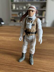 Vintage star wars luke skywalker Hoth toy figure RARE