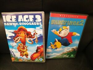 Ice Age 3 Dawn Of The Dinosaurs Stuart Little 2 Dvd S Trusted Ebay Shop Ebay