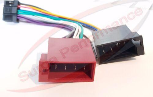 Panasonic CQ FX 35 autoradio Adaptador Conector DIN ISO 16pin arnés auto KFZ